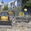 Comienzan las obras de reparación del paseo turístico de Las Burras