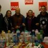 El PSOE de Santa Lucía entrega el material de aseo y necesidades básicas a Adassa