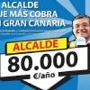 Onalia renuncia al coche oficial pero reclama 10,45 euros de parking