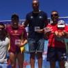 Daniel Sánchez y Verónica Navarro ganan la IX Travesía Taurito-Playa Mogán