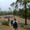 'San Bartolomé Camina' echa a andar por la vertiente norte de Gran Canaria