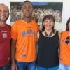 Dunia González recibe al campeón de España de jabalina Yasiel Sotero