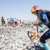 Gisela Pulido completa los 90 km entre Fuerteventura y Gran Canaria con su cometa