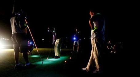 Todo a punto para el 'Audi Golf Night by Mahou' de Maspalomas