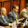 De izquierda a derecha, Aladino Suárez, Antonio Hernández y Juan Domínguez