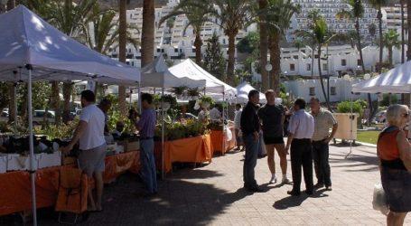 El mercadillo agrícola de los domingos vuelve al parque urbano de Puerto Rico