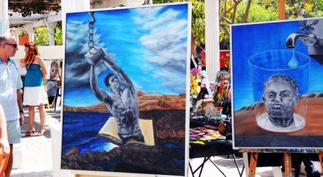 Un pasacalles con batucada inaugurará 'Maspalomas Art 2013'