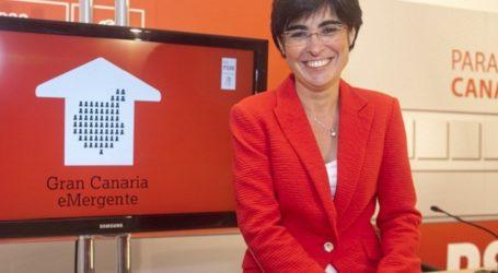 El PSOE pide ocho millones para la carretera de La Aldea-Agaete