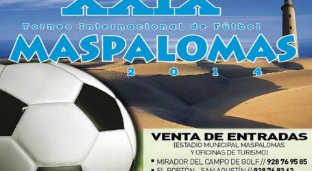 El torneo de fútbol de Maspalomas tiene garantizada la difusión televisiva para China y Europa