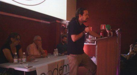 Pablo Iglesias pudo y sedujo en los Multicines Monopol