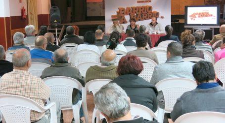AA.VV. de Santa Lucía enseñan formas de ahorro y búsqueda de empleo