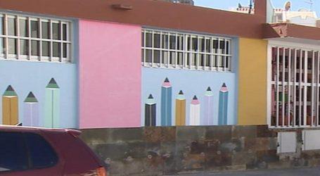 La Guardería de Arguineguín renueva el exterior del edificio y el parque infantil
