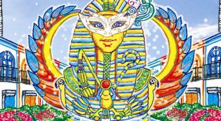 El faraón Tutankamón se convierte en la imagen del Carnaval Costa Mogán