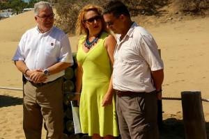 Charca de Maspalomas, presentación del proyecto del Cabildo de Gran Canaria
