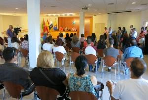 Plan de Empleo Social, presentación a los trabajadores