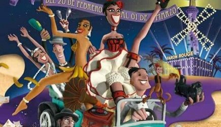 San Bartolomé de Tirajana presenta el cartel del Carnaval Maspalomas 2015