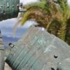 Monumento a Colón, en Maspalomas (detalle)