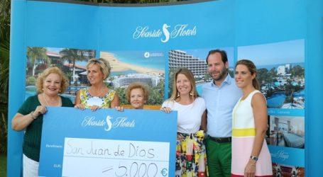 Sea Side Hotels vuelve a aportar 5.000 euros a la Obra Social San Juan de Dios