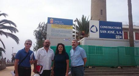 El Cabido prevé que las obras del Faro de Maspalomas concluyan a final de año