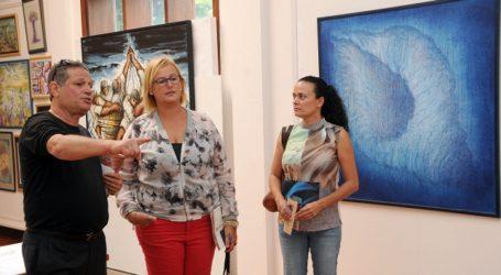 Antonio Sánchez expone en el Centro Insular de Turismo de Playa del Inglés