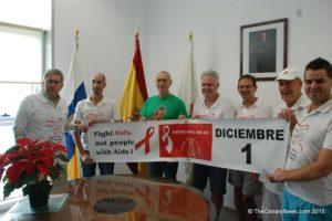 El alcalde de San Bartolomé de Tirajana recibe a los organizadores del evento WAD