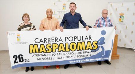 La XXXV Carrera Popular de Maspalomas expone su cara solidaria