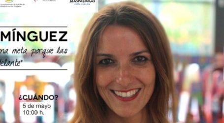 Raquel Domínguez impartirá una charla en Maspalomas sobre superación