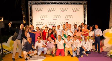 Maspalomas Golf celebra la Audi Golf Night by Mahou & Lopesan