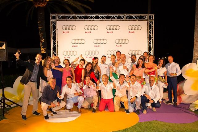 Audi Golf Night by Mahou & Lopesan