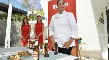 Virginia Naranjo presenta en Maspalomas sus propuestas para el verano