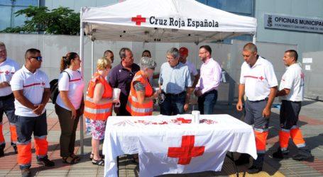 Maspalomas se vuelca con la Cruz Roja en el Día de la Banderita