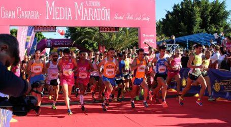 Palomeque y Merino campeones de la Gran Canaria Media Maratón Camilo Sánchez