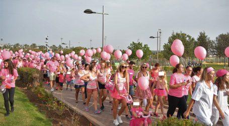 La caminata contra el Cáncer de Mama reunió a 700 personas en el Parque Urbano del Sur