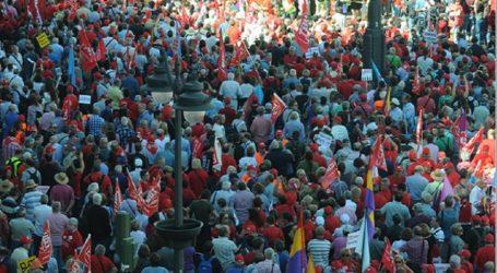 Gran seguimiento en toda España en las manifestaciones por las pensiones dignas