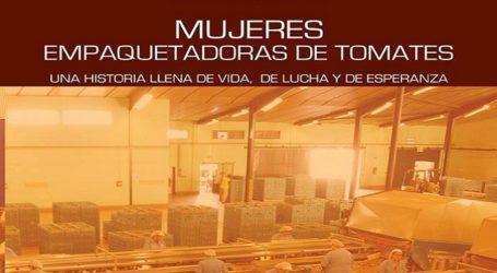 """Presentación en Agüimes del libro """"Mujeres empaquetadoras de tomates: una historia llena de vida de lucha y de esperanzas"""""""