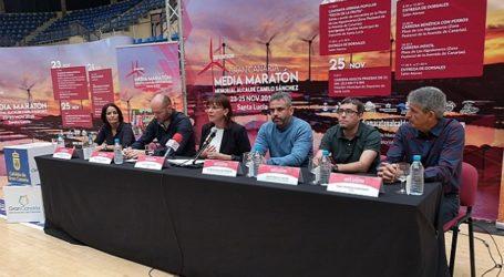Casi 3.000 personas inscritas en las pruebas de la XII Media Maratón Alcalde Camilo Sánchez