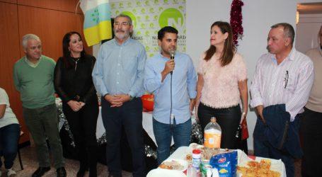Nueva Canarias SBT celebra su fiesta de navidad mostrando ilusión de cara a la próximas elecciones