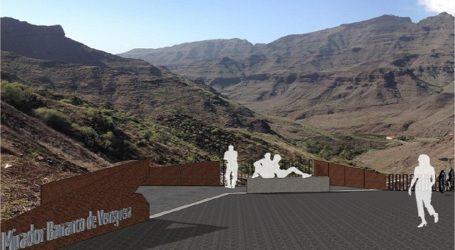 El Cabildo licita por 103.000 euros un mirador para contemplar el Barranco de Mogán y el de Veneguera