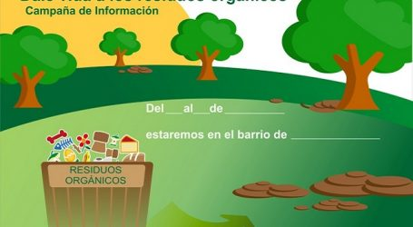 La Mancomunidad del Sureste realiza una campaña de recogida de residuos orgánicos en Santa Lucía