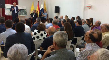 Satisfacción ante el anuncio de que las obras Agaete-El Risco comenzarán el 25 de septiembre