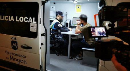 La Policía Local de Mogán participa en el programa 'Equipo 112' de Televisión Canaria