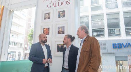 Turismo inaugura la exposición 'Galdós visto por pintores canarios'