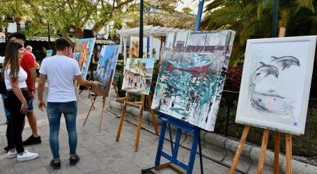 Mohamed El Montaser gana el X Certamen de Pintura Rápida de Mogán