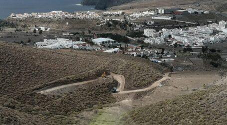 Reanudadas las obras de los polvorines que suministrarán explosivos a los túneles de Faneque