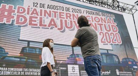 1.000 jóvenes disfrutarán de música y humor dentro de 270 coches en el Park in Fest