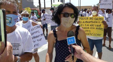 NC en Mogán se suma a las reivindicaciones de los caravanistas y exige a la alcaldesa que apueste por la regulación frente a la persecución del colectivo