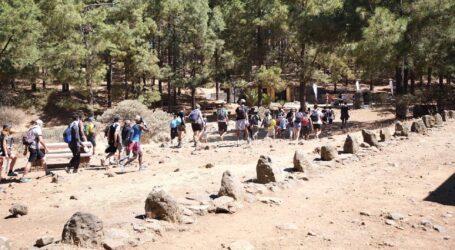 """Camino de Los Valores: desde Tunte hasta Gáldar """"Caminando contra la Covid"""""""
