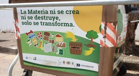 """Santa Lucía promueve la II Campaña """"Dale vida a los residuos orgánicos"""" de la Mancomunidad del Sureste"""