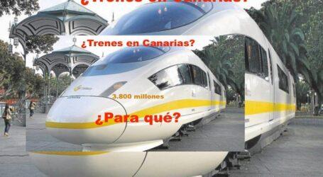 """Los Verdes denuncian """"el derroche de más de 25 millones de euros"""" en un tren inviable"""