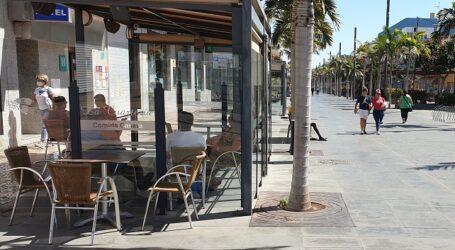 El Ayuntamiento permite que se mantengan las terrazas instaladas durante la alerta 3 para favorecer el consumo en el exterior